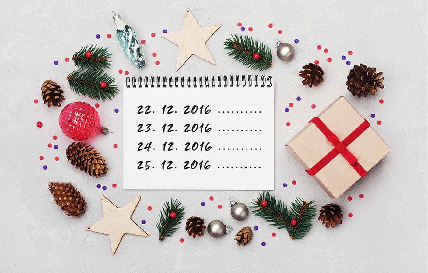 Diář klidných Vánoc - Baťa